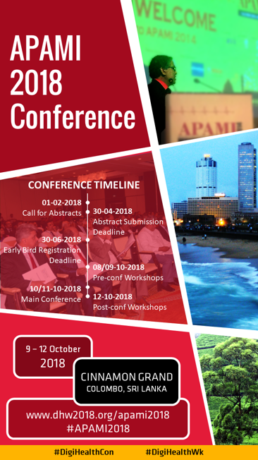 APAMI 2018: 9 - 12 October 2018, Colombo, Sri Lanka